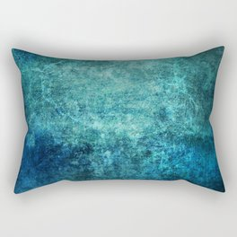 Turquoise Ocean Marble Rectangular Pillow