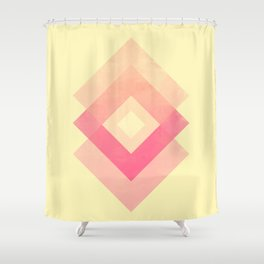 lazy middle dad Shower Curtain