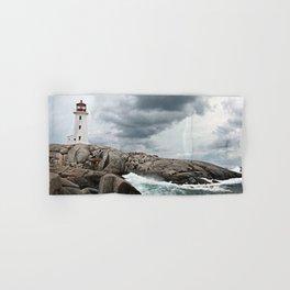 Peggy's Cove Light House -- Nova Scotia Hand & Bath Towel