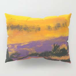 Stagecoach in the Sky Pillow Sham