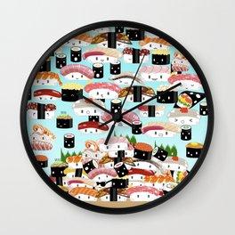 I REALLY LOVE SUSHI Wall Clock