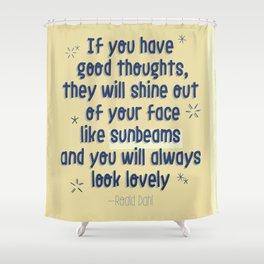SUNBEAMS Shower Curtain