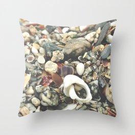 Cornwall Shore Throw Pillow