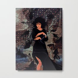 Original Vintage Women Poster Metal Print