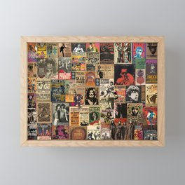 Rock'n Roll Stories Framed Mini Art Print