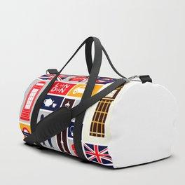 London Keep Calm And Carry On Duffle Bag