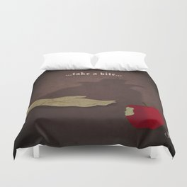 Calamity Collection, Series 1 - Apple Duvet Cover