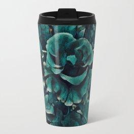 Blue Rose - Painting Style - Art Gift Travel Mug