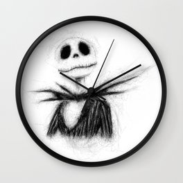 Jack, The Nightmare Before Christmas Wall Clock