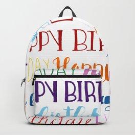 Happy Birthday | Fun & Bright Backpack