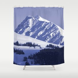 Back-Country Skiing - 8 Shower Curtain