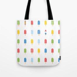 Popsicle - Bright Random #609 Tote Bag