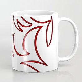 Red Ornament Coffee Mug