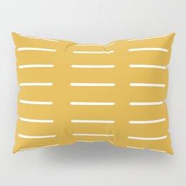 organic / yellow Pillow Sham