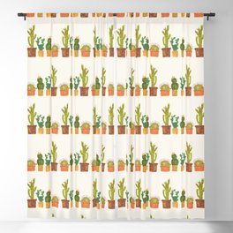 Hedgehog and Cactus (incognito) Blackout Curtain