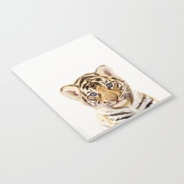 Baby Tiger, Baby Animals Art Print By Synplus Notebook