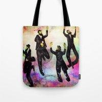 jewish Tote Bags featuring jewish by Mimi Eskenazi