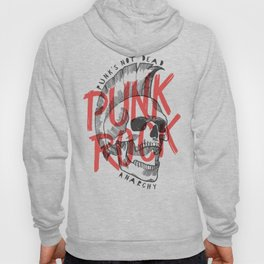 Punk Rock Skull Hoody