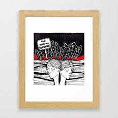 #direngeziparki Framed Art Print