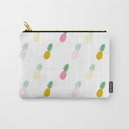 Pineapple Pattern by TinyTiniDesign Carry-All Pouch