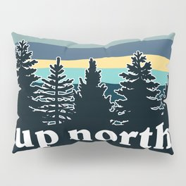 up north, teal & yellow Pillow Sham