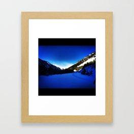 Beautiful Montana Framed Art Print