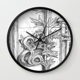 batalha stone detail Wall Clock