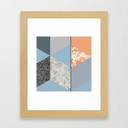 Terazzo Tiles Framed Art Print