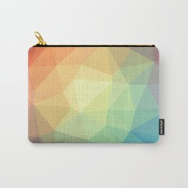 LOWPOLY RAINBOW Carry-All Pouch