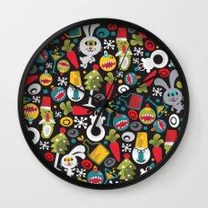 Ugly Christmas. Wall Clock