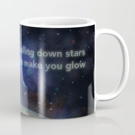 Pulling Down Stars - With Words Coffee Mug