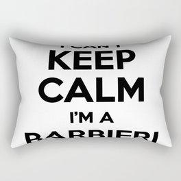 I cant keep calm I am a BARBIERI Rectangular Pillow