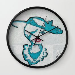 A WATCHNIGHT DIVINE Wall Clock