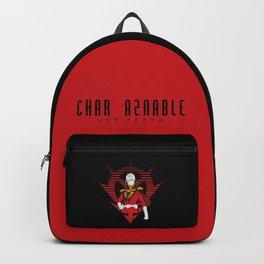 068 Char logo Backpack
