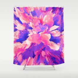 Color Explodes Shower Curtain