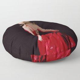 Red Dress Floor Pillow