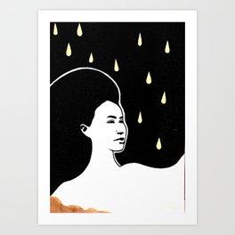 K Olsen R Rain Art Print