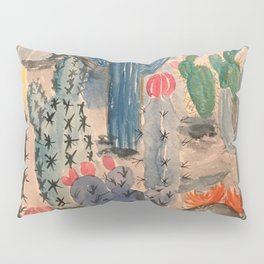 Escape into the Deep Blue Desert Pillow Sham