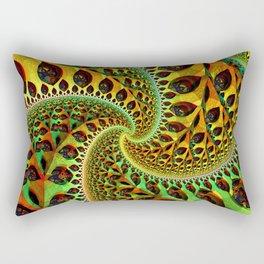 the fractal tree Rectangular Pillow