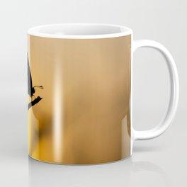 Silhouette of moths Coffee Mug