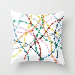 Trapped New Throw Pillow