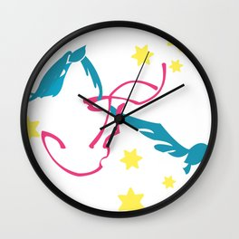 Soar to New Beginnings Wall Clock