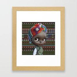 JANET BLYTHE DOLL BY ERREGIRO Framed Art Print