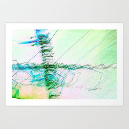 The Rush Aesthetic Art Print
