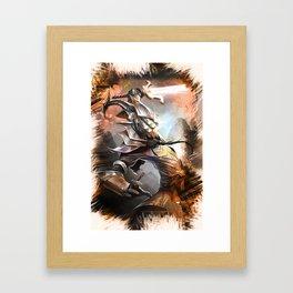 League of Legends MASTER YI Framed Art Print