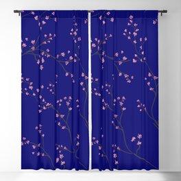 Arbre fond bleu Blackout Curtain