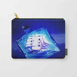 Ship in a bottle. Carry-All Pouch