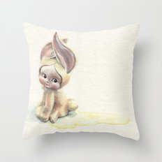 Baby-Pee-a-Little Throw Pillow