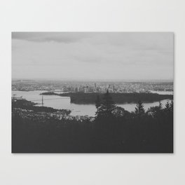 vancouver from cypress mountain. Canvas Print