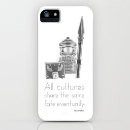 Rome - All Cultures Share the Same Fate Eventually iPhone Case